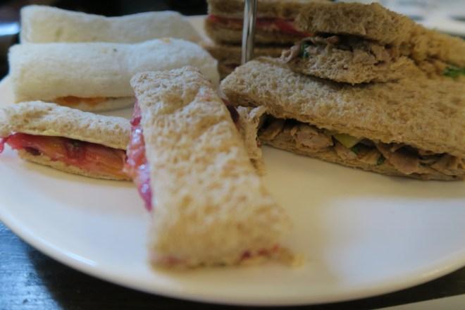 Propa Tea sandwich