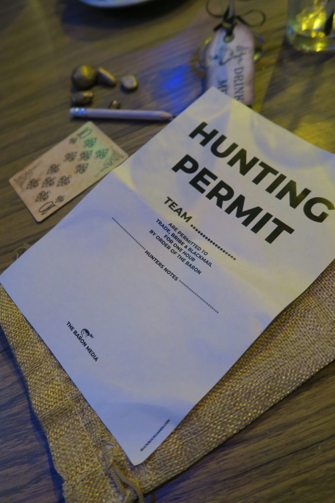 BuckBuck Games permit