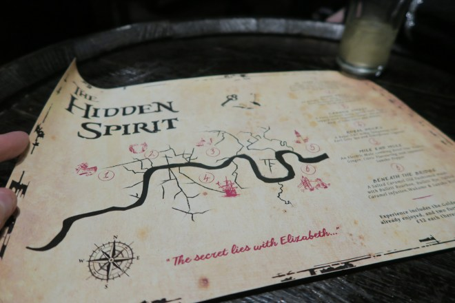 The Hidden Spirit map
