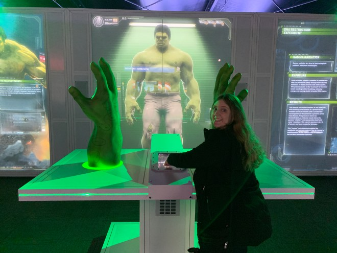 Avengers Station Hulk and me