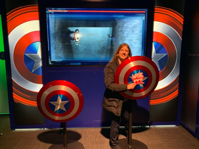 Avengers Station Captain America I am Captain America