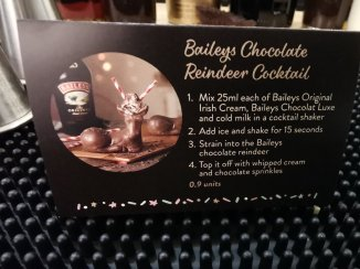 Baileys Treat Bar Baileys Chocolate Reindeer Cocktail