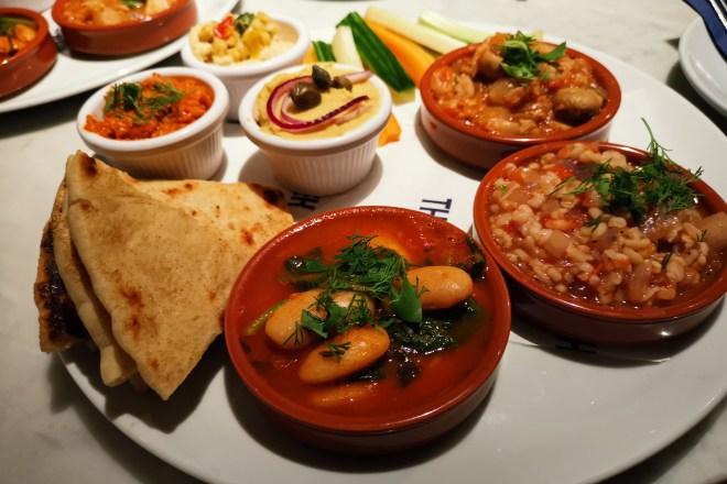 A vegan lunch - The Real Greek — Love Pop Ups London
