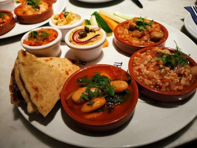 The Real Greek - Vegan Plate