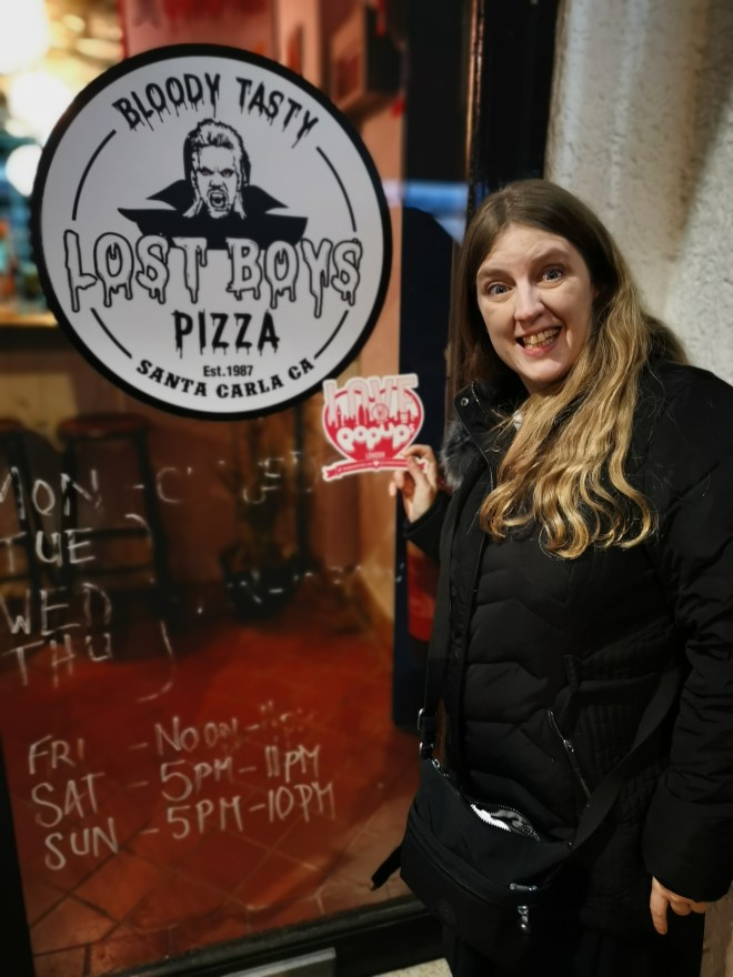 Lost Boys Pizza - outside me