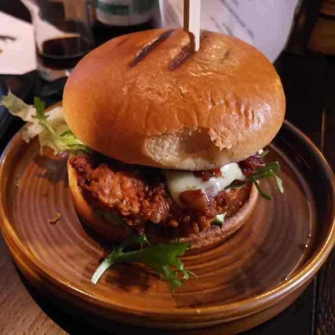 The Fox Coop chicken burger