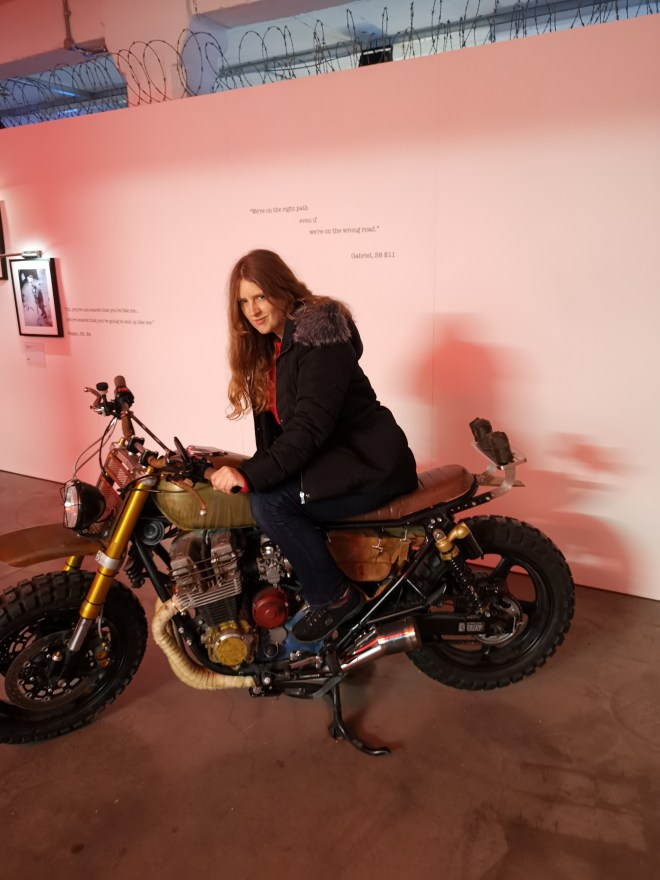 Walking Dead Art me and motorcycle
