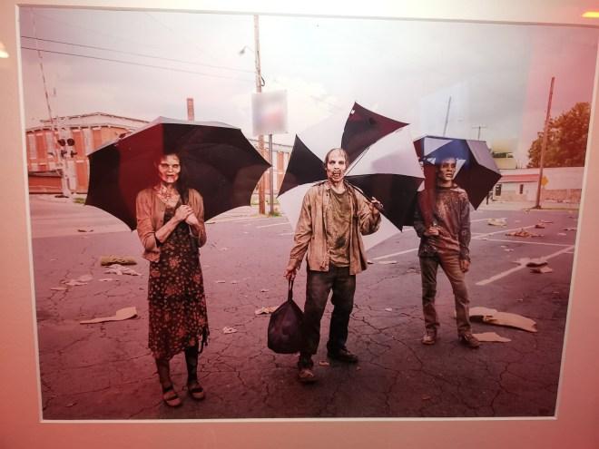 Walking Dead photo rain