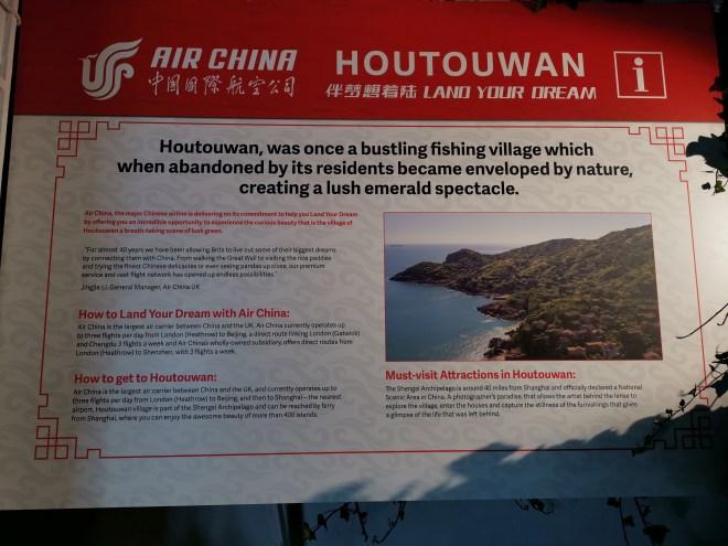 Air China Land of Luck - info Houtouwan