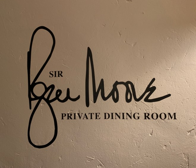 Hush Sir Roger Moore room
