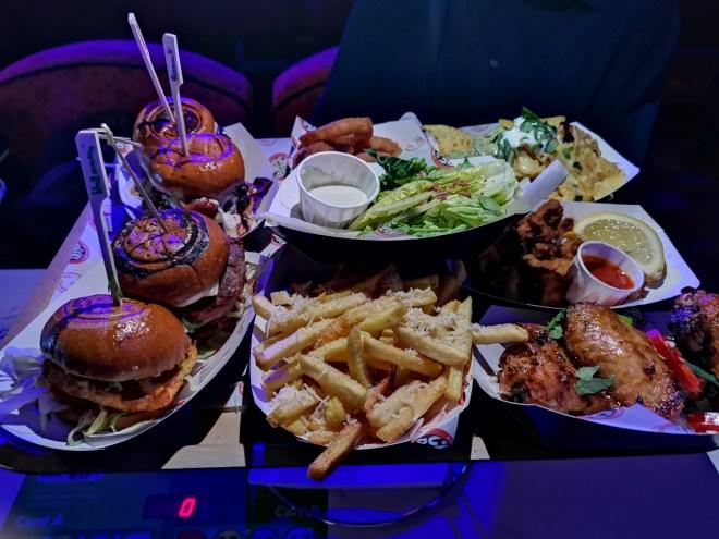 Players food Cheeky Burger