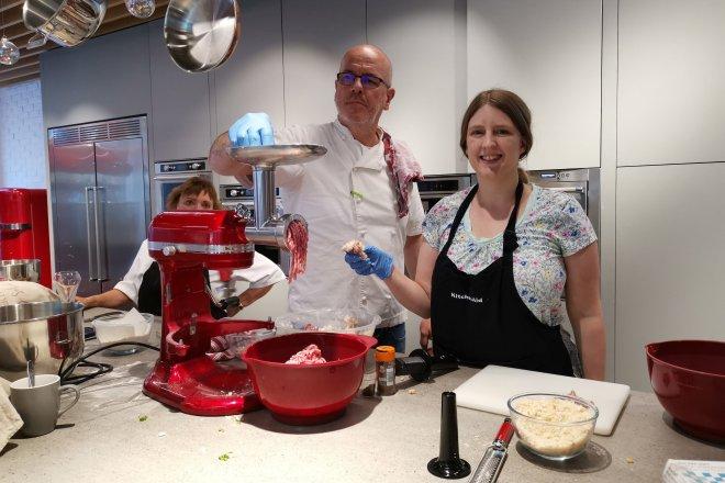 KitchenAid Richard Bertinet sausage rolls