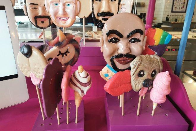 Spun Candy faces