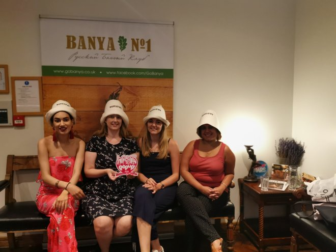 Banya No.1 reception us ladies