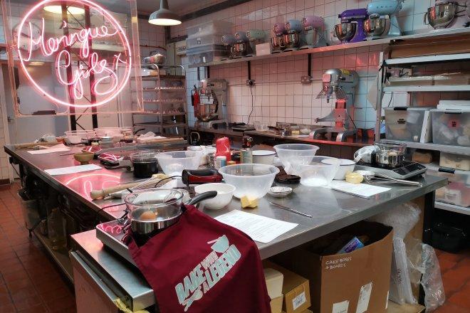 Bake With A Legend held within Meringue Girls kitchen