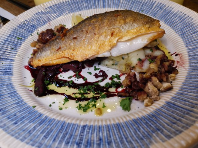 The Kitchen London Hilton Tower Bridge fish