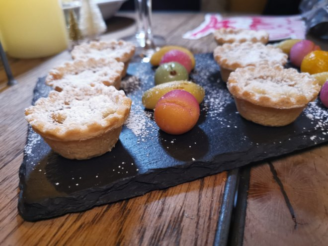 The Kitchen London Hilton Tower Bridge mince pies