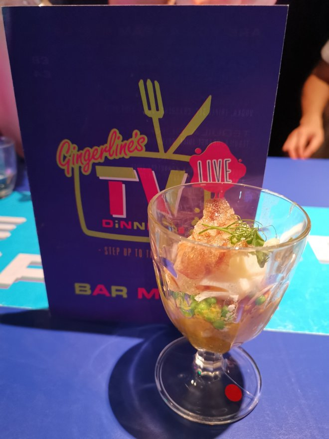 Gingerline's TV Dinners Dish 1 by Love Pop Ups London