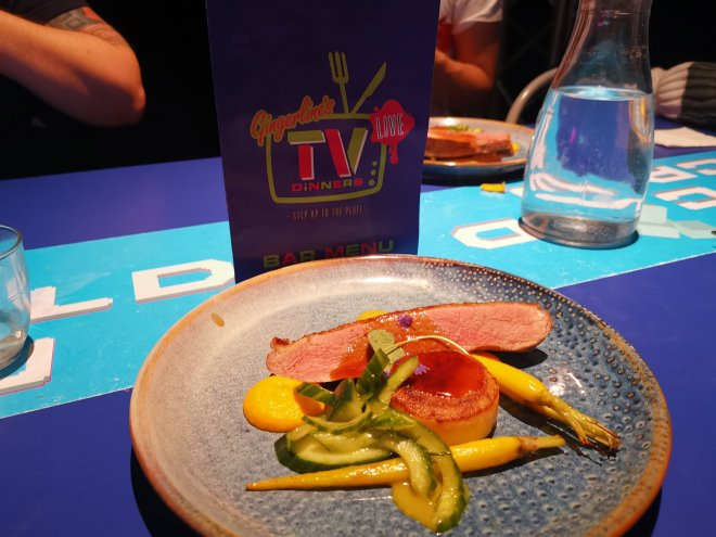 Gingerline's TV Dinners Dish 3 by Love Pop Ups London
