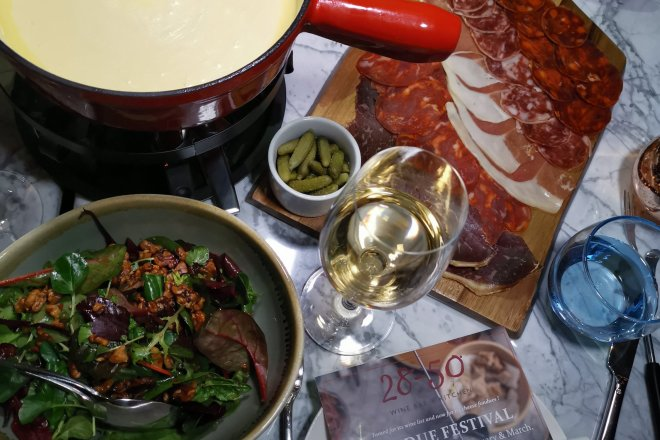 28-50 Wine Bar & Kitchen Fondue Experience