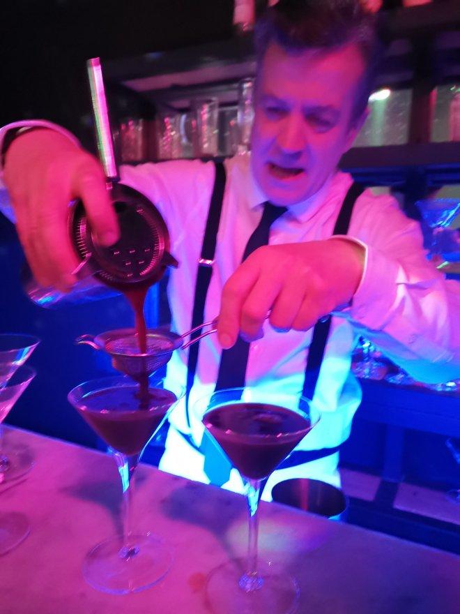 Funicular Cocktail Time Machine Soho Espresso Martini