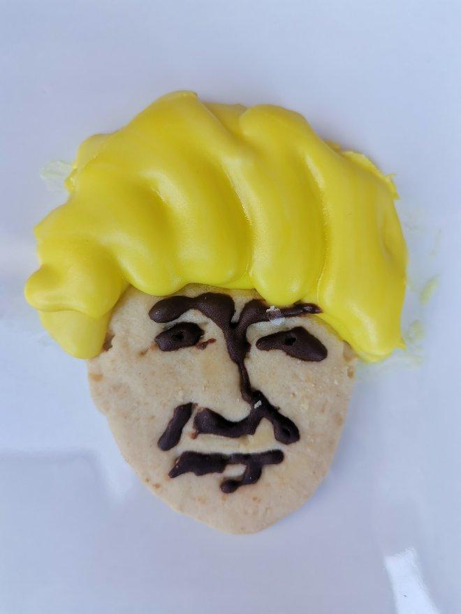 Jack and Beyond Boris Johnson cookie
