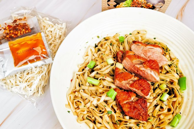 Kung Fu Mama noodles with duck