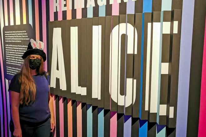 Alice V&A Museum me