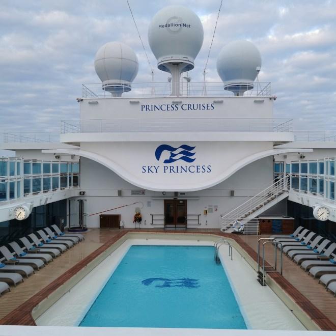 Sky Princess cruise Retreat area deck 17