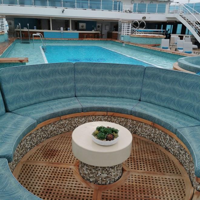 Sky Princess pool area