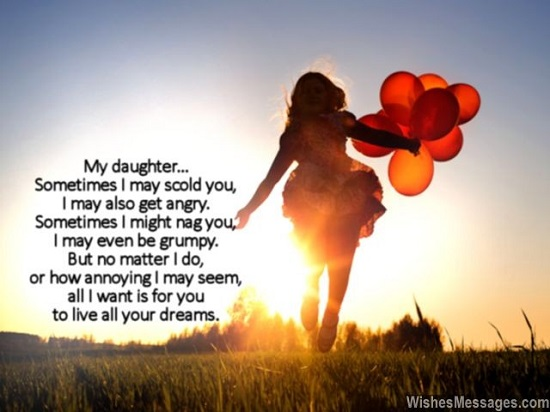 Birthday Wishes Quotes for Daughter