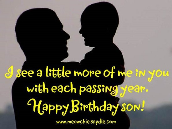 Birthday Wishes/Quotes for Son