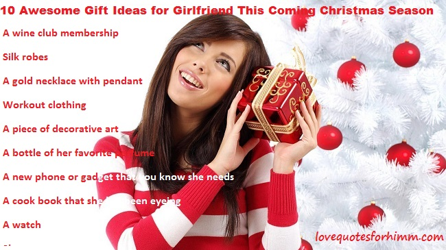 10 Awesome Gift Ideas for Girlfriend This Coming Christmas Season