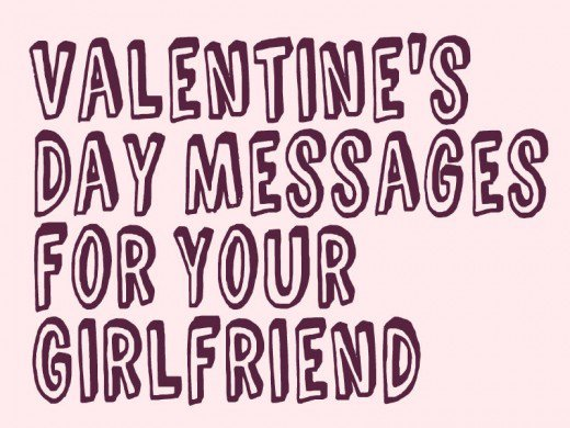 Valentine Day Messages For Your Girlfriend