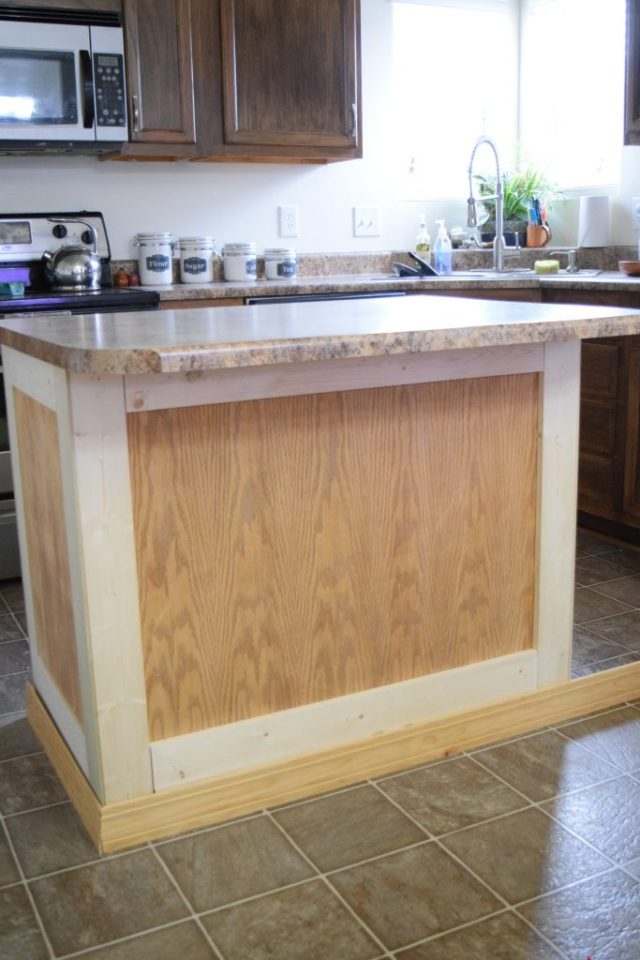 How to Update a Kitchen Island
