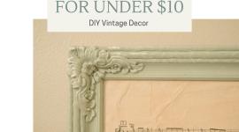 DIY Vintage Silver Leafing