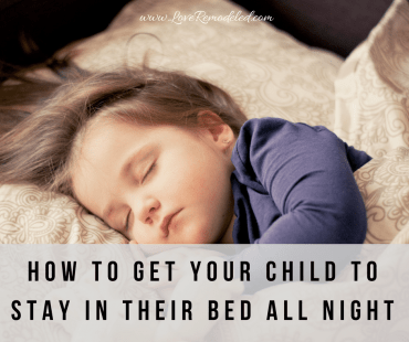 Get Your Toddler to Sleep In Their Own Bed