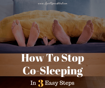 How To Stop Co-Sleeping