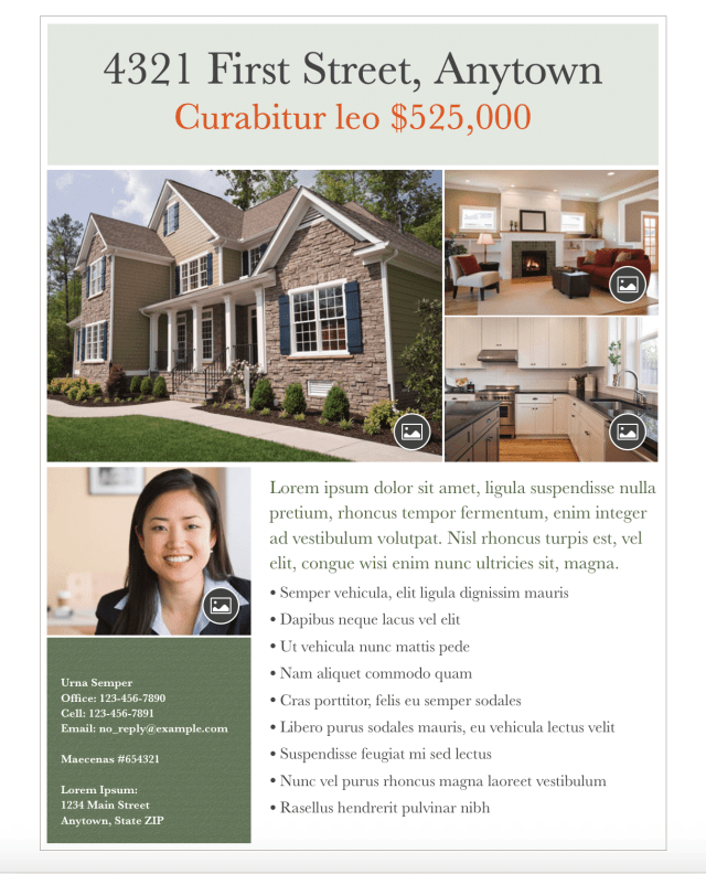 Flyer to Sell Your Own Home