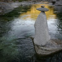 Stacked Stones, South Yuba River, CA