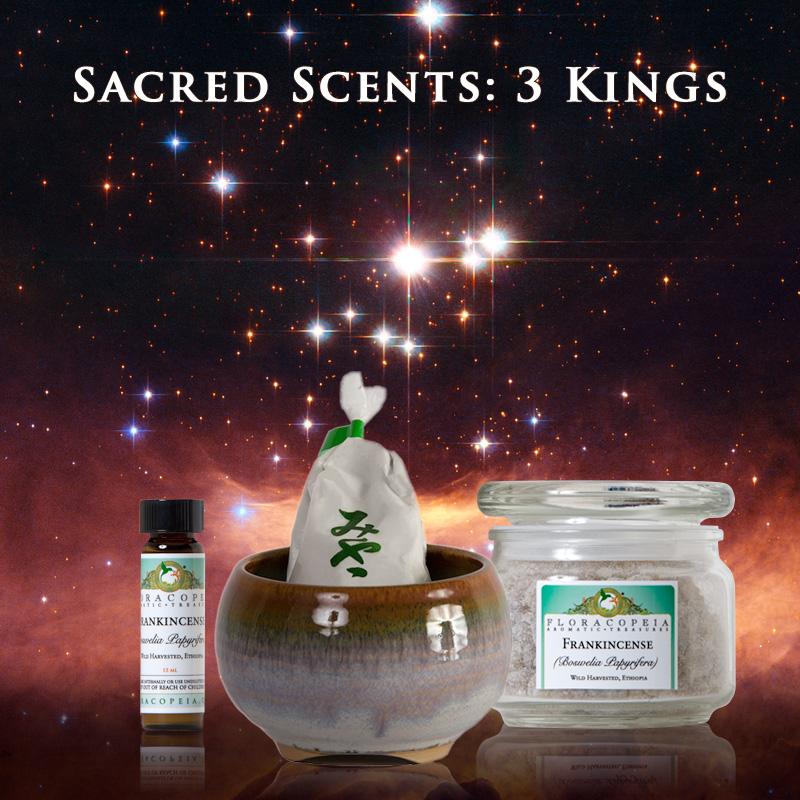 Sacred scents illustration