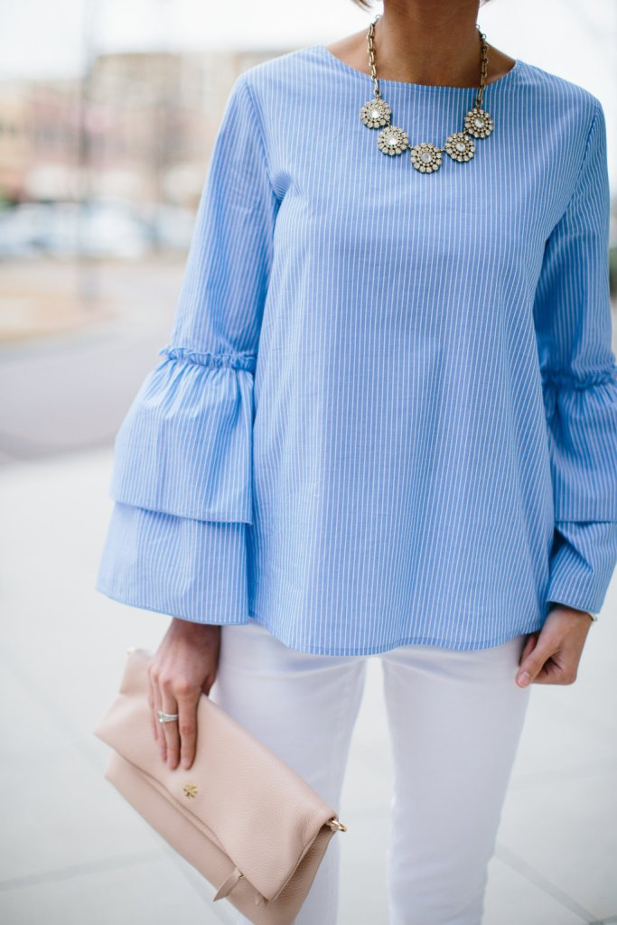 blue bell sleeve - @loverlygrey