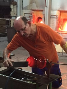 Bavaria day glass blowing 6