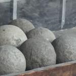 Rock canon balls