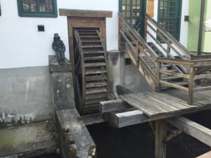 Day Trip Cesky Krumlov water wheel