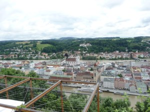 Passau view from overlook