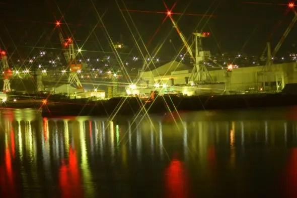呉市の夜景