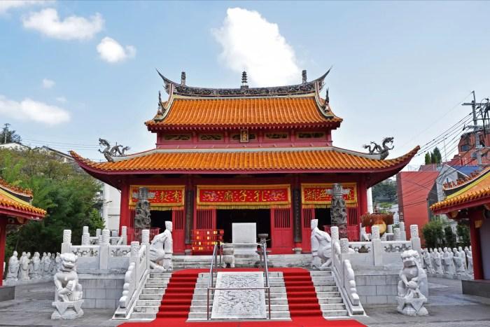 長崎中華街 孔子廟