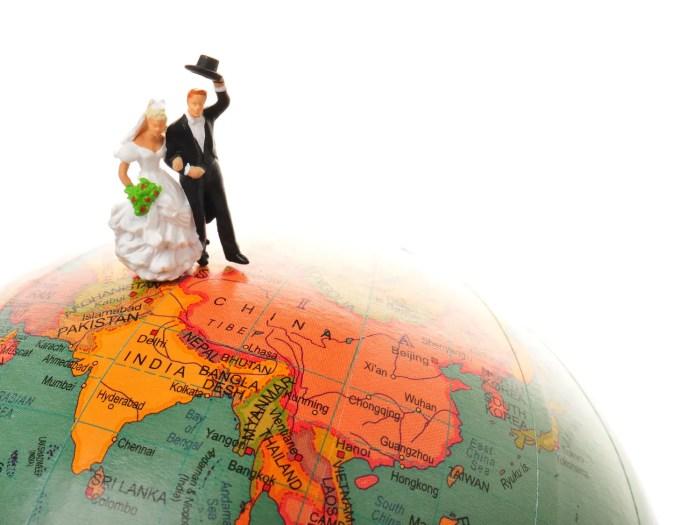 国際結婚のイメージ画像