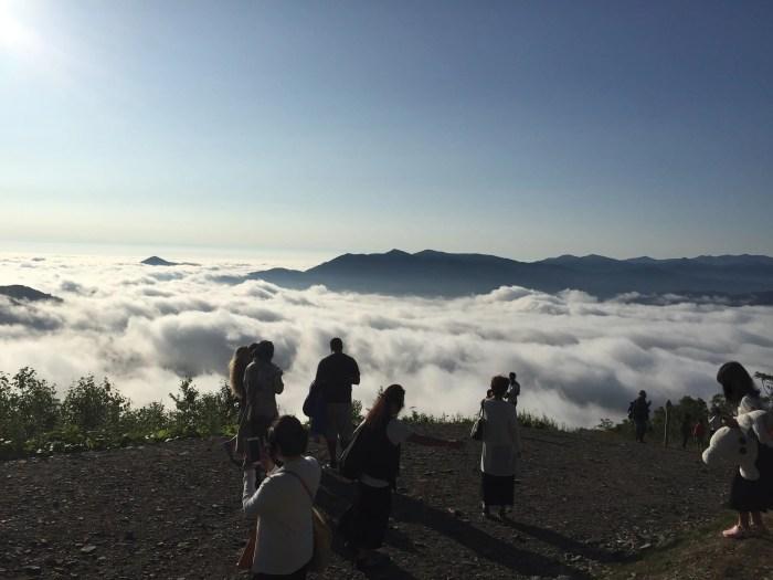 北海道トマムの雲海